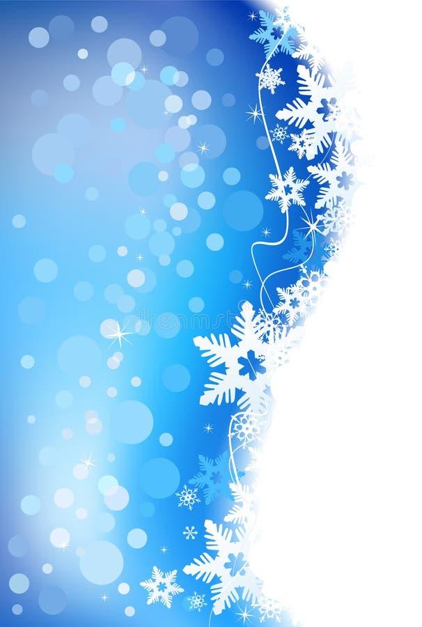Winterfeiertagshintergrund. lizenzfreie abbildung