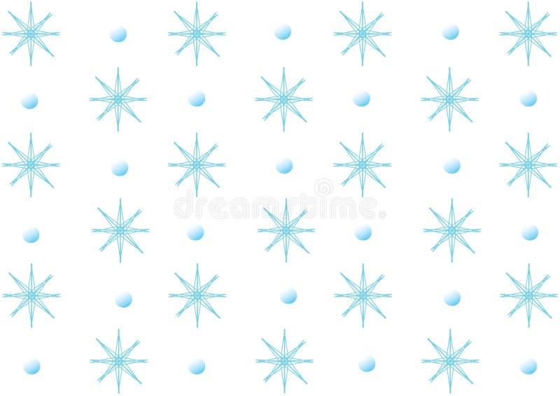 Winterflocken lizenzfreie abbildung
