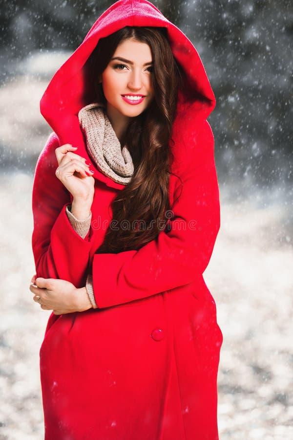 Winterfrauenmode stockfoto