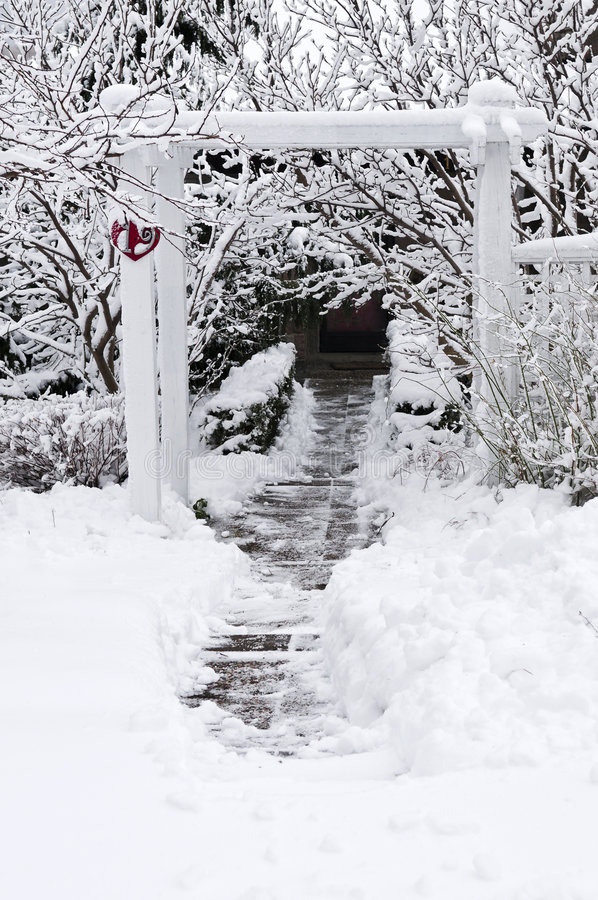 Wintergarden royalty-vrije stock fotografie