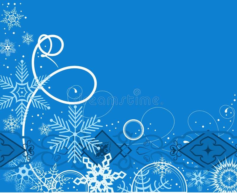 Winterhintergrund. Vektorabbildung vektor abbildung