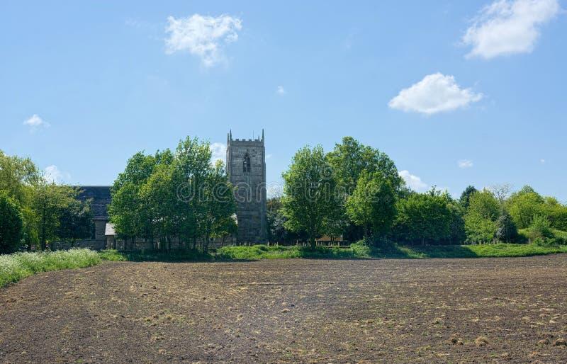 Winteringham, Lincolnshire Toda a igreja de Saint fotos de stock