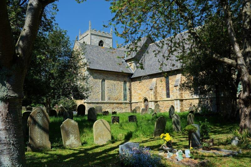Winteringham, Lincolnshire Toda a igreja de Saint fotografia de stock royalty free