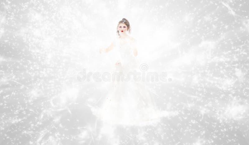 Winterkönigin stockbilder