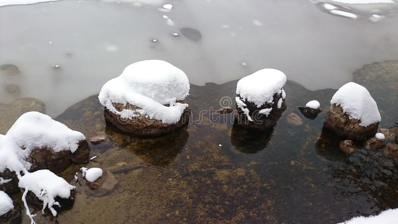 Winterl andscape royalty free stock image