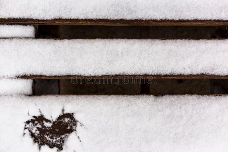 Winterliebe stockfotos