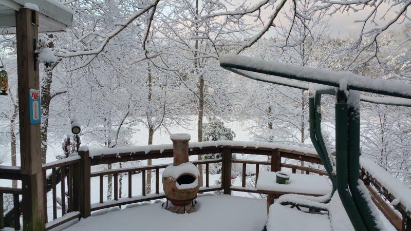 Wintermagie lizenzfreie stockbilder