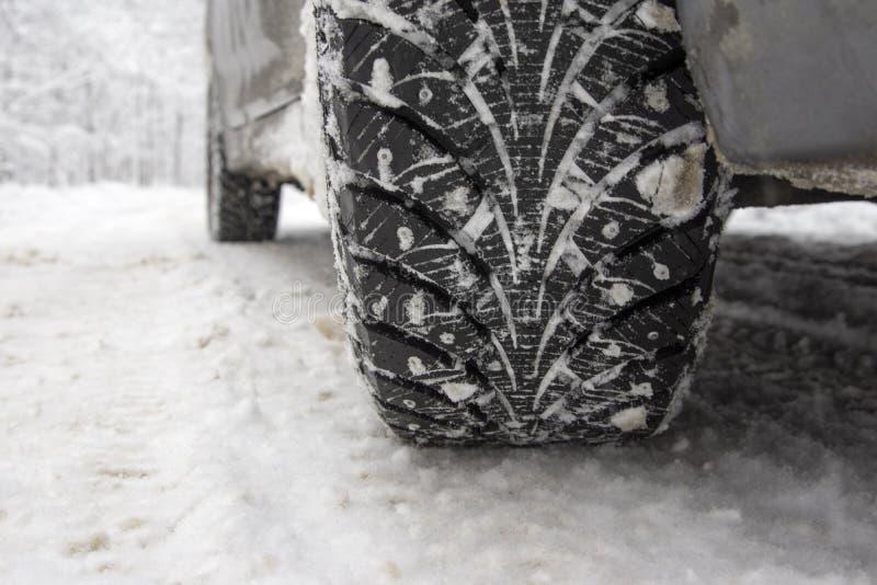 Winterreifen stockfotos