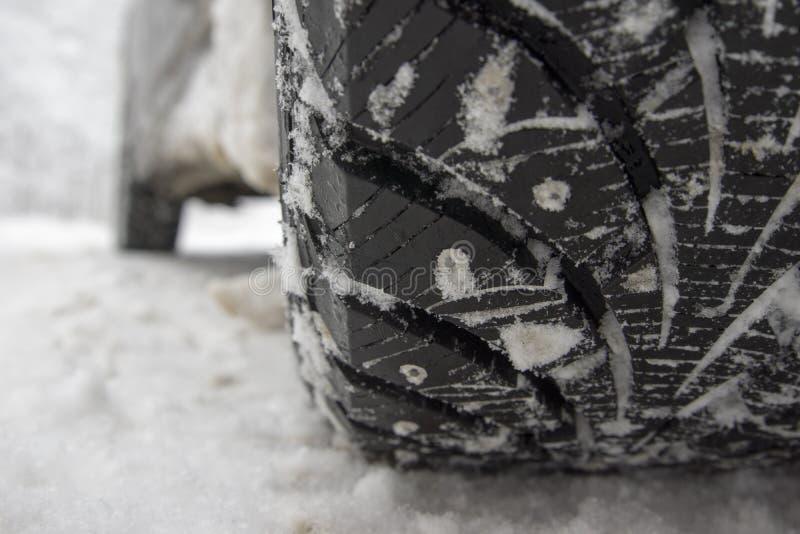 Winterreifen stockbild