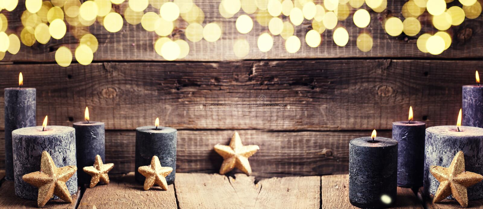 Winters holidays banner stock images