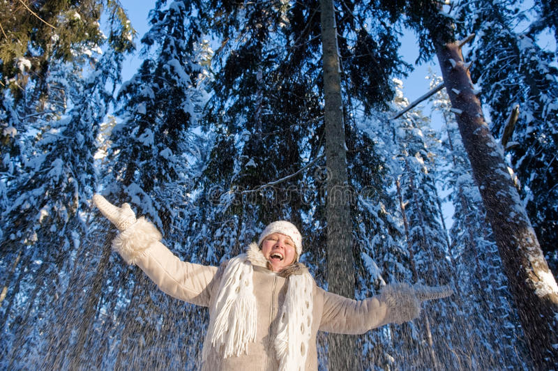 Download Winters joy stock photo. Image of outdoor, cool, frost - 12742194
