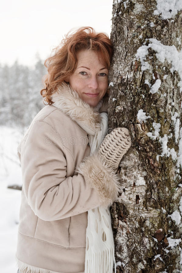 Download Winters portrait stock image. Image of february, outdoor - 13087569