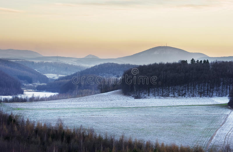 Winters Scenery Royalty Free Stock Photo