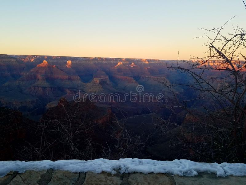 Winters sun royalty free stock photography