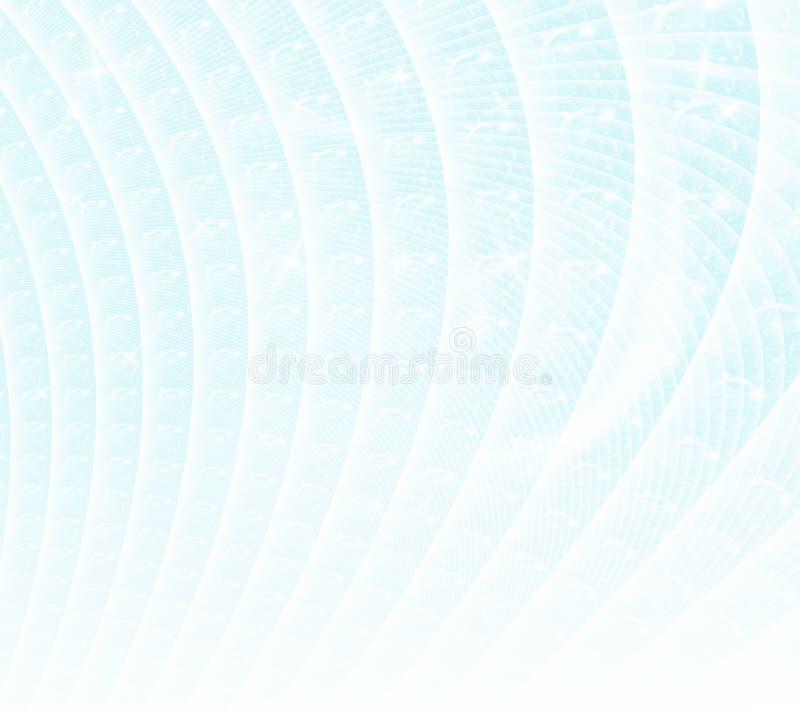 Winterschneezusammenfassung stock abbildung