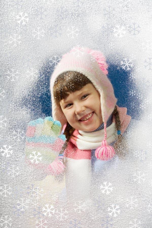 Am Wintertag lizenzfreie stockbilder