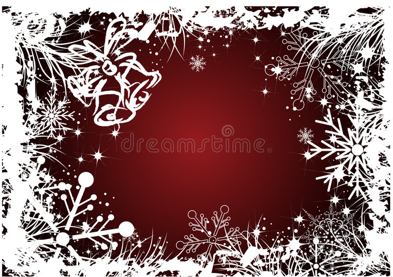 Winterthema vektor abbildung