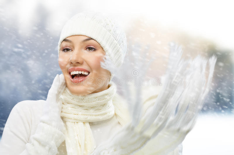 Download Wintertime stock image. Image of merry, activity, attractive - 17841121