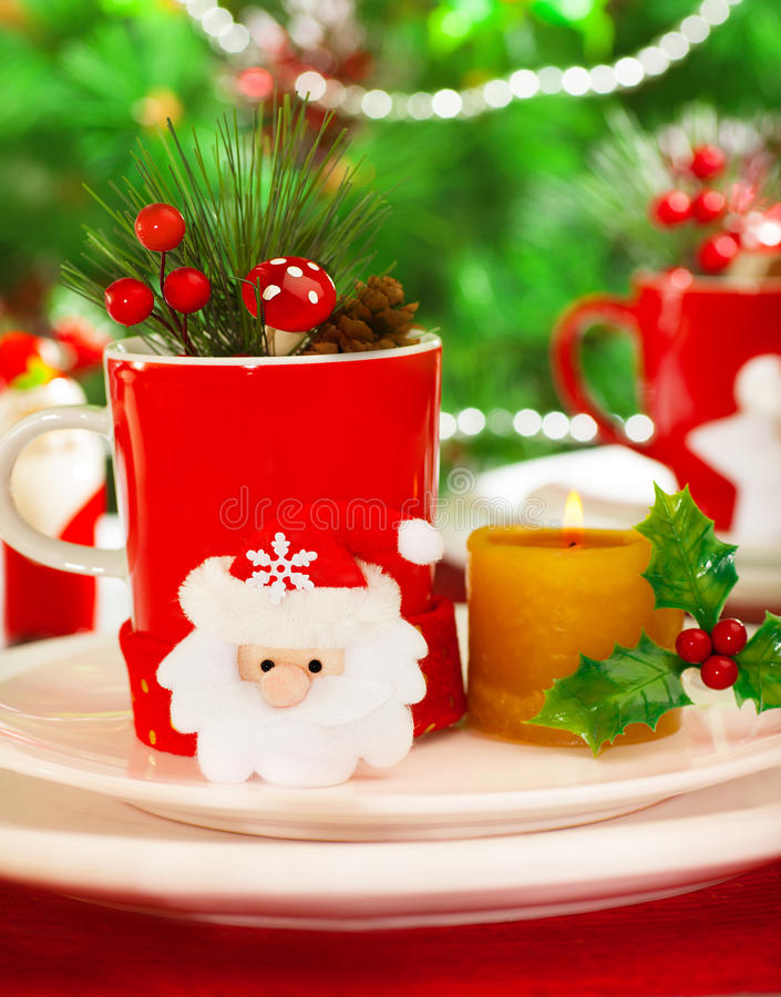 Download Wintertime Table Setting Royalty Free Stock Photography - Image: 28247607