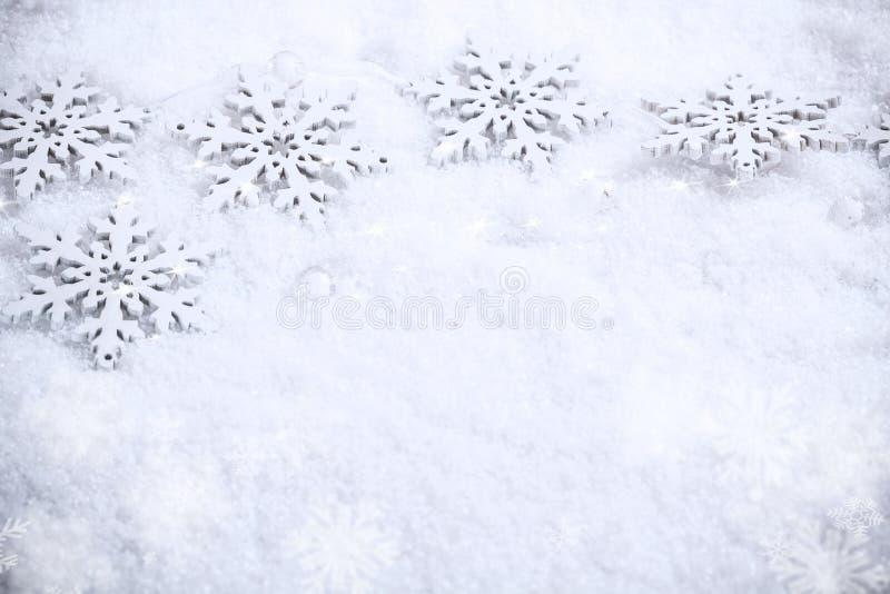 Winterurlaubhintergrund stockbilder