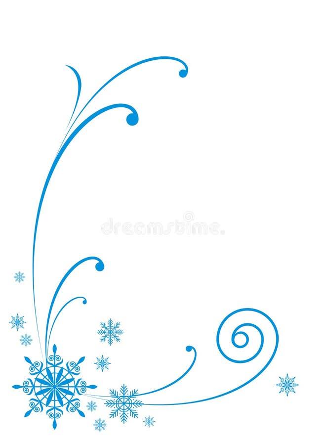 Winterverzierung 4 vektor abbildung. Illustration von weiß - 7047242