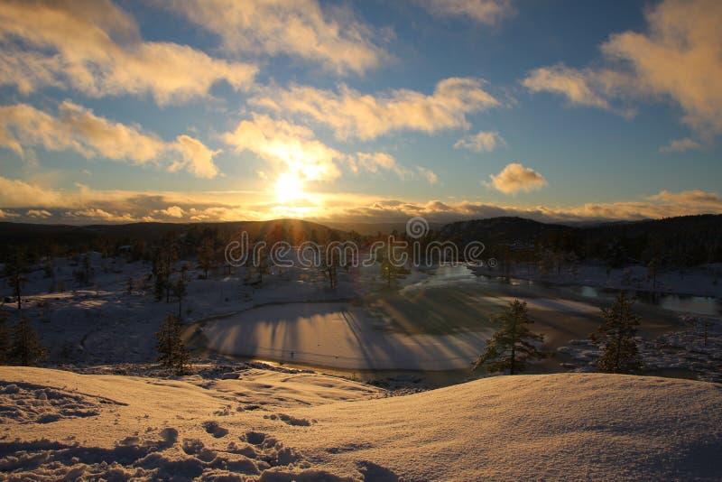Winterwonder photographie stock libre de droits