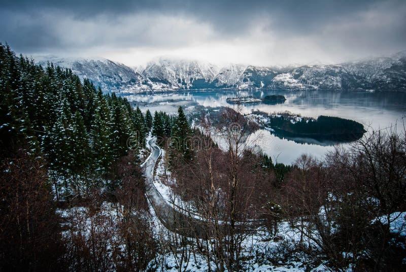 Winterworld royalty-vrije stock foto