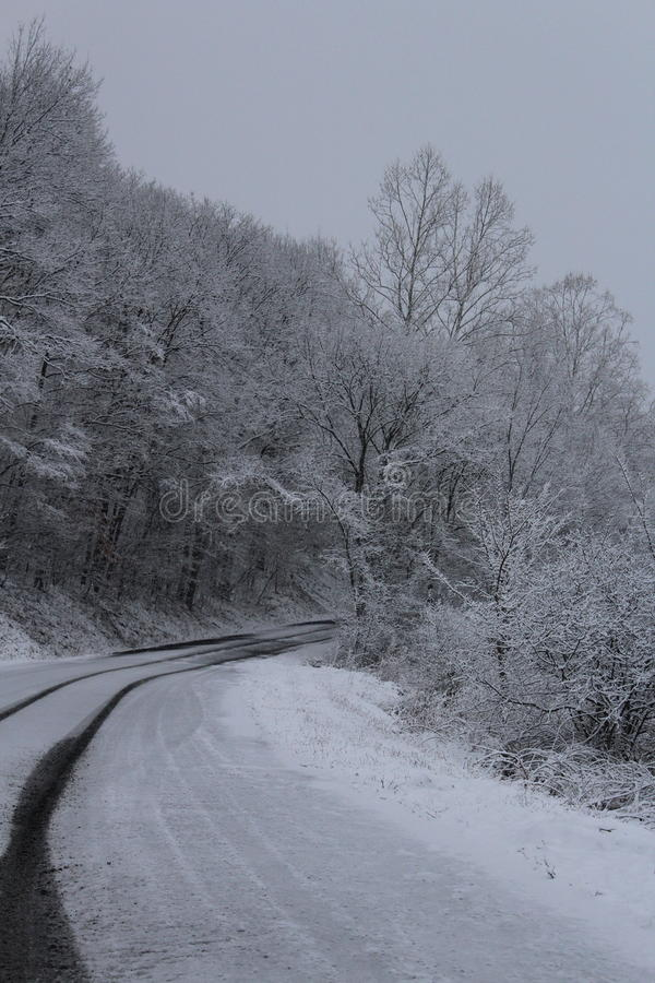 Winterwunderland stockfotos