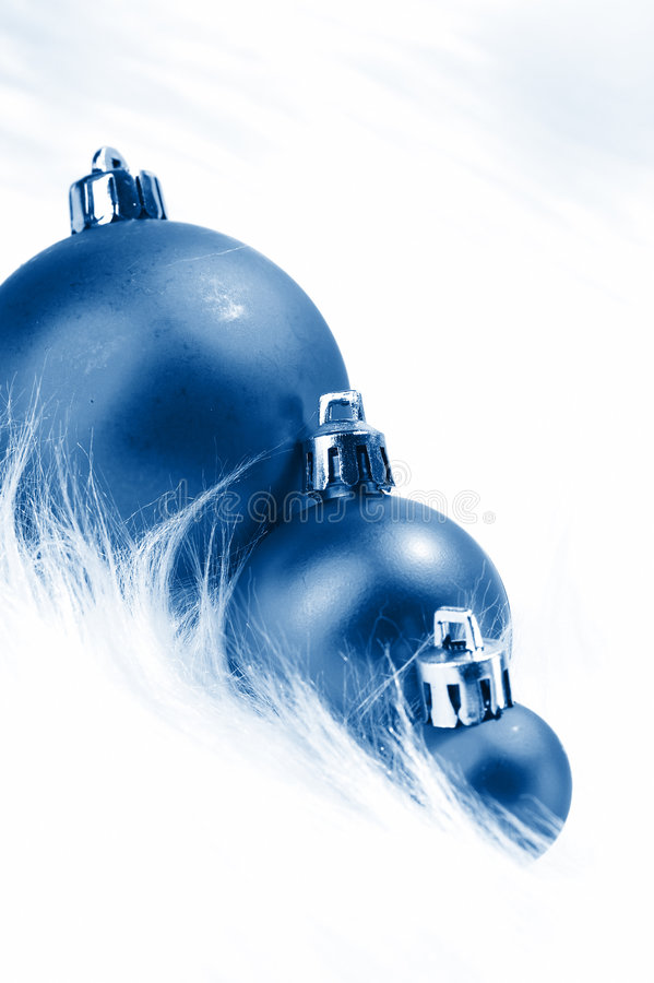 Download Wintery Christmas Decorations Stock Image - Image: 7355241