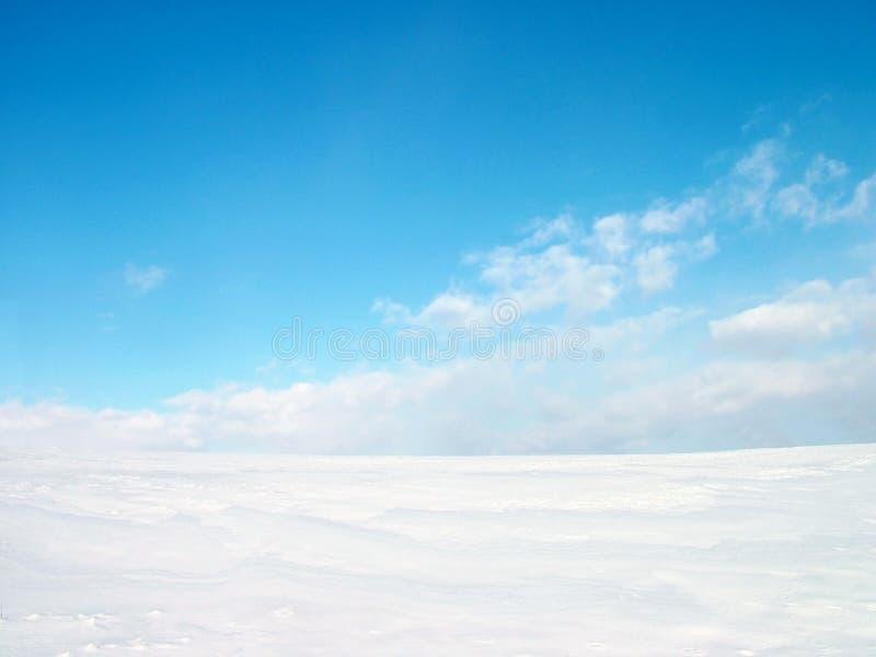 Wintery illustration stock photography