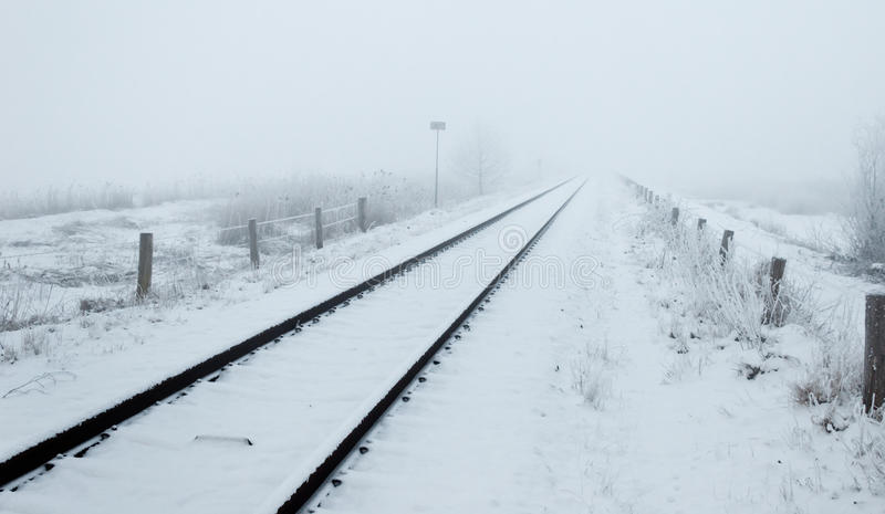 Download Wintery Trip To The Infinite Stock Photo - Image: 23196690