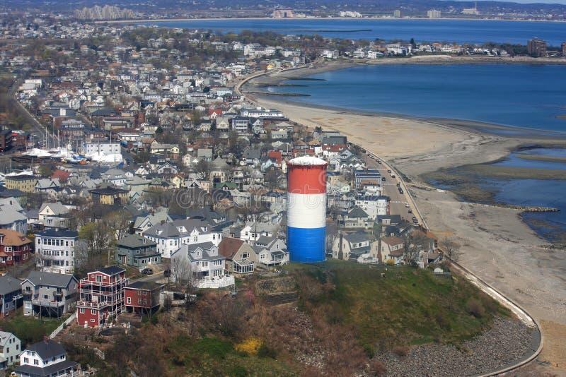 Winthrop, le Massachusetts photo libre de droits