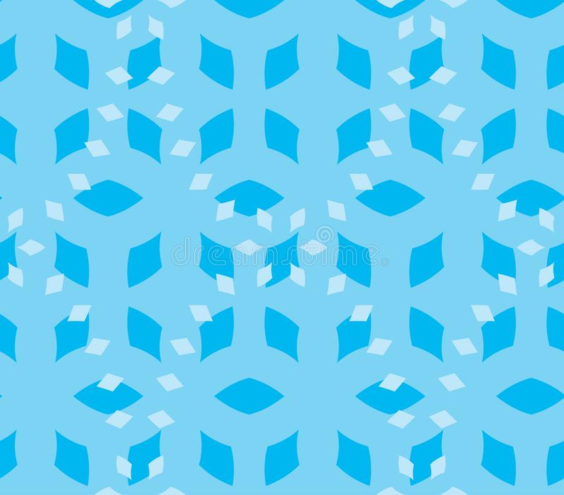 Seamless Repeat Wintry Diamond Mix royalty free stock photography