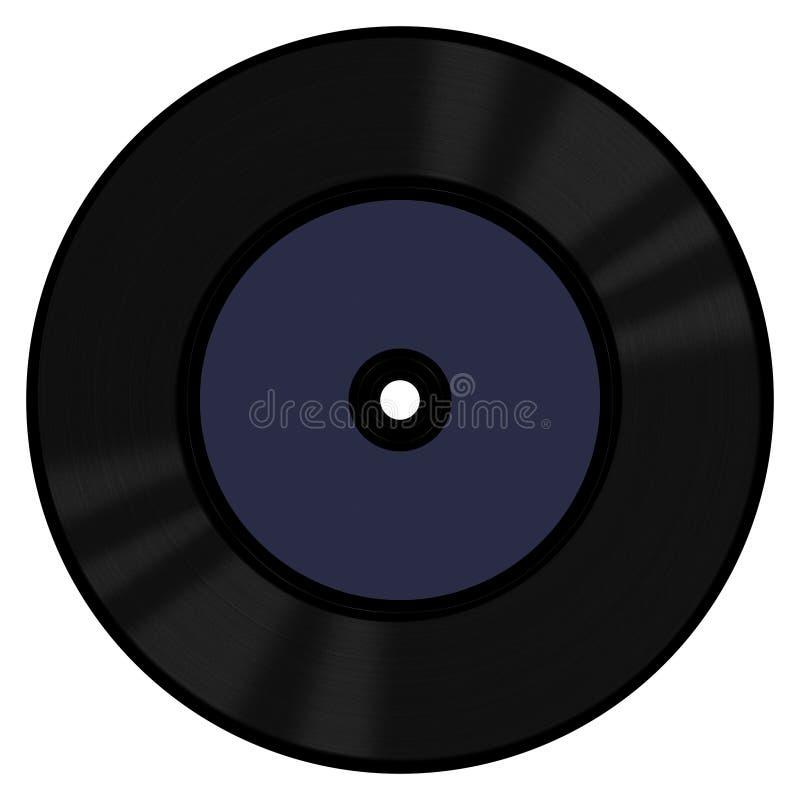 Winylowy rejestr 45 RPM zdjęcia stock