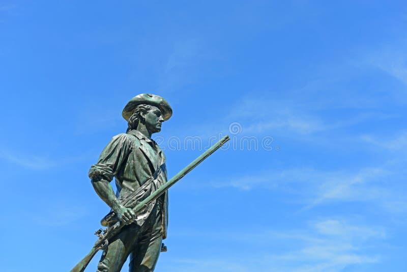 Winziger Mann-nationaler historischer Park, Übereinstimmung, MA, USA stockfotos