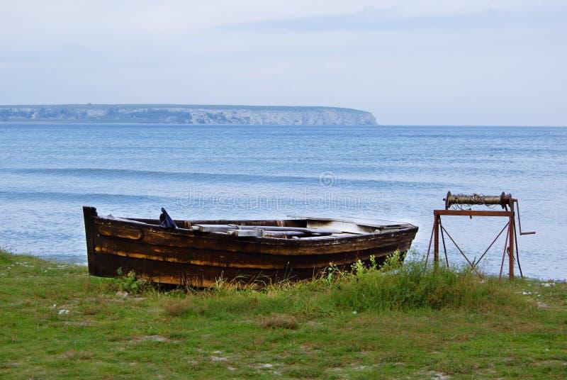 Wioślarska łódź zdjęcia stock