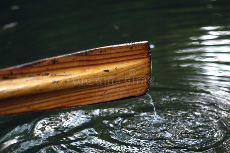 wiosła łodzi wiosłować fotografia stock