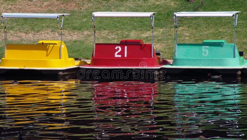 wiosłuj łodzią zdjęcia royalty free