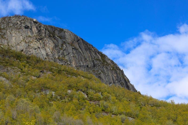 Wiosen góry Norwegia obrazy royalty free