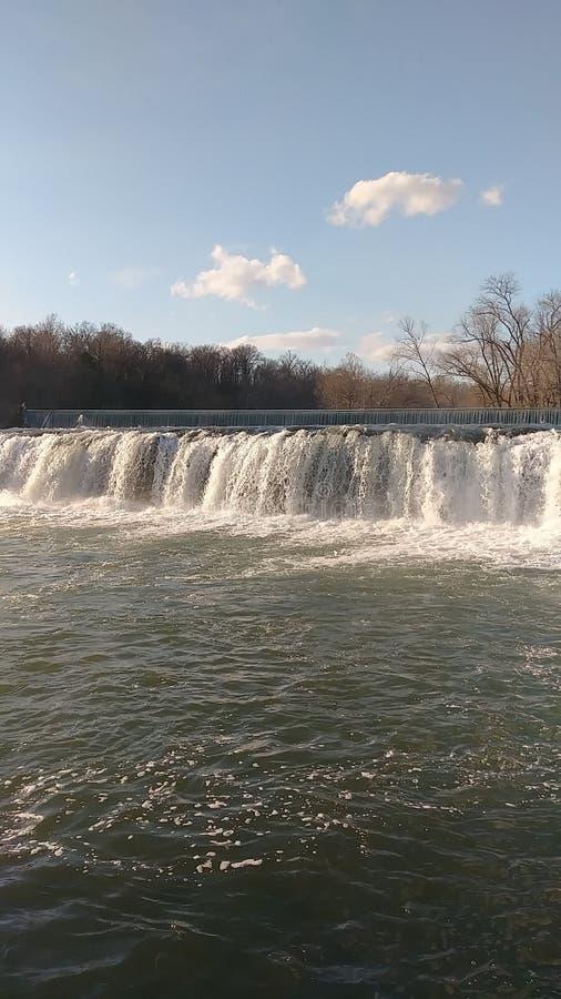 Wiosen wody Christina Farino siklawą w wiośnie Joplin obrazy stock