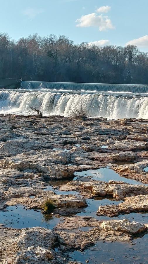 Wiosen wody Christina Farino siklawą w wiośnie zdjęcie royalty free