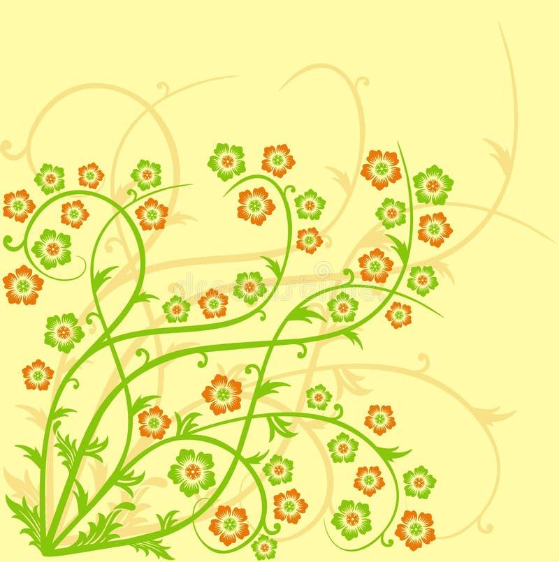 wiosenne tła wektora royalty ilustracja