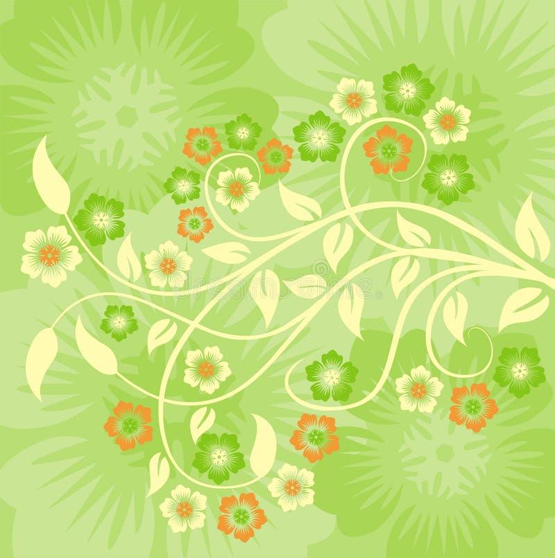 wiosenne tła wektora ilustracja wektor
