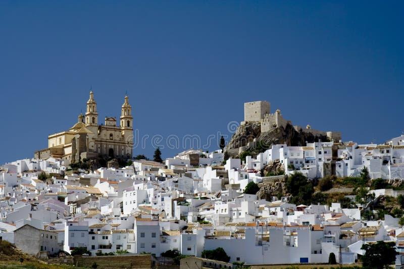 wioska średniowieczny white zdjęcia royalty free