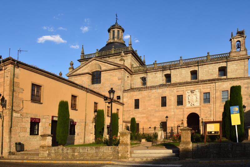 Wioska Almeida, Beira Alta Guarda PortugalEl Sagrario Gromadzki Ciudad Rodrigo kościół, Salamanca prowincja, Hiszpania zdjęcia royalty free