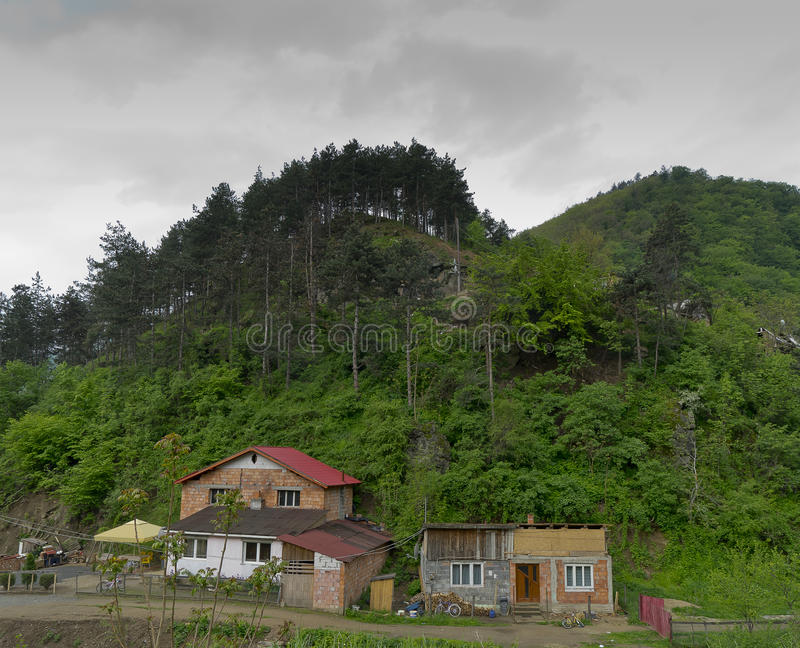 Wioska Capalna Rumunia zdjęcie royalty free