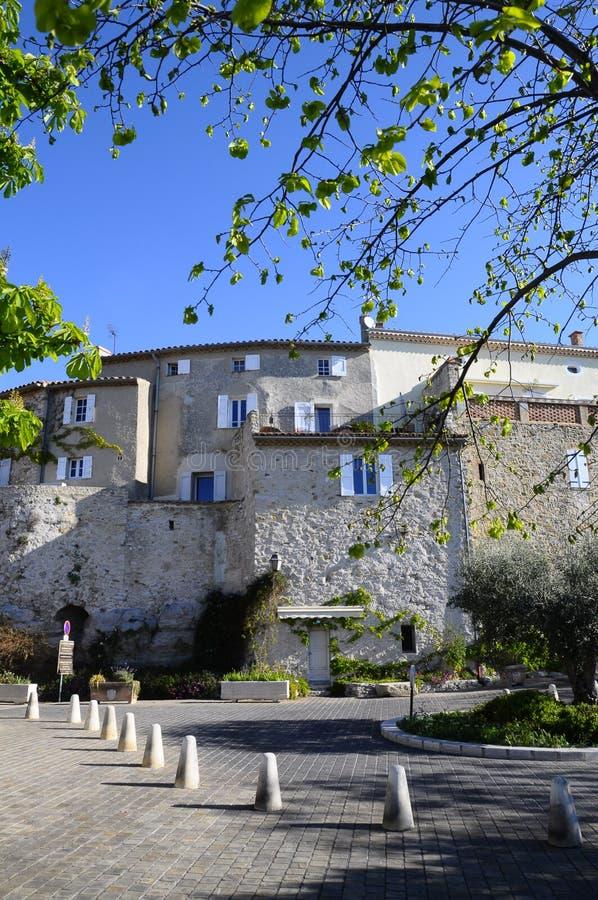 Wioska Castellet w Francja zdjęcie stock