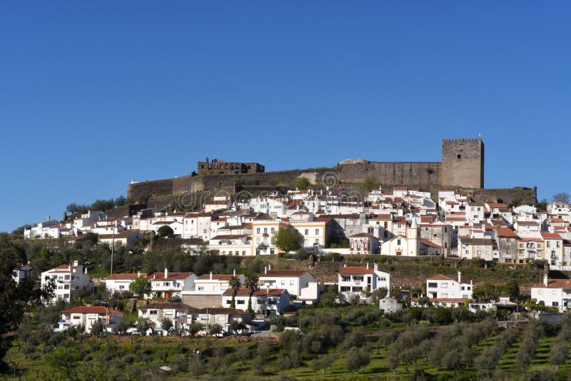 Wioska Castelo De Vide, Alentejo region, fotografia stock