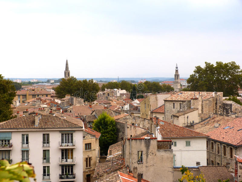 Wioska de France obraz royalty free