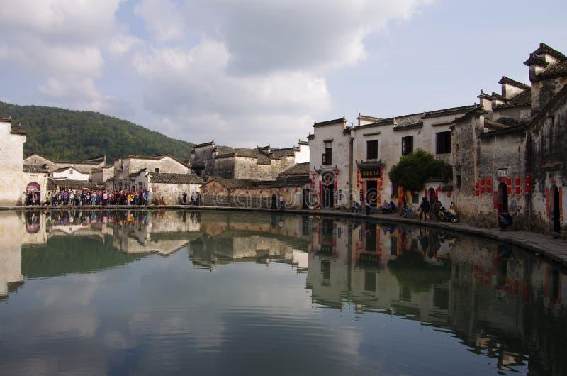 Wioska HongCun, Anhui, Chiny obrazy stock